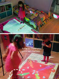 Lumo Projector Turns Kids Bedrooms Into Interactive Game Rooms Lumo Cool Technology Kids