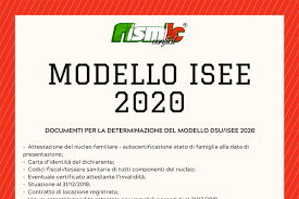 Documenti necessari per Modello ISEE 2020 - Fismic