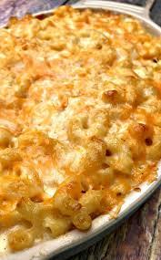 southern style soul food baked macaroni