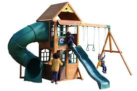 spey climbing frame two slides monkey