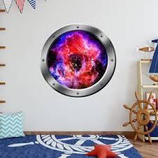 Vwaq Space Portal 3d Wall Decals Nebula Mural Outerspace Decal Ps2