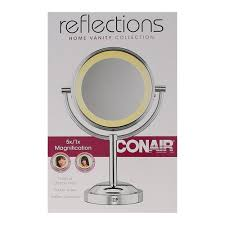 conair round shaped double sided