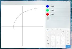 windows calculator will get a graphing