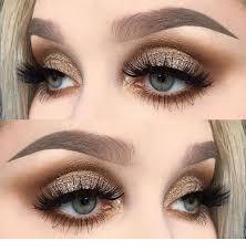 hot eye makeup for brown eyes cat eye