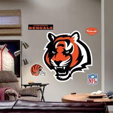 Fathead Cincinnati Bengals Logo Wall Decal