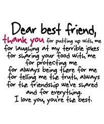 thank you essay for best friends the long term effects of bullying