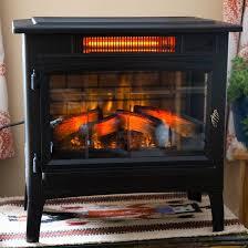 duraflame infrared quartz fireplace