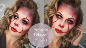 pennywise makeup tutorial it clown