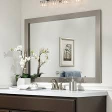 mirror frame ideas bathroom mirror