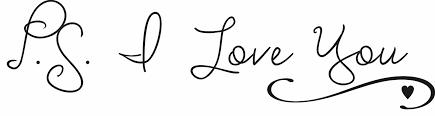 P S I Love You Decal Quote The Walls