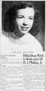 Hilda Webb engagement 1953 - Newspapers.com