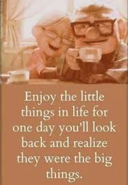 enjoy the little things · moveme quotes