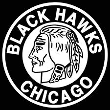 Chicago Blackhawks Retro Logo Car Decal Vinyl Sticker W