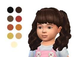 sims 4 hair curly