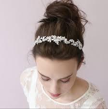 leaf cer headband hairpin beaded