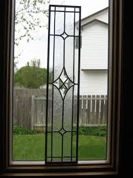 bevelled stained glass custom made for