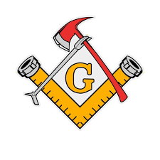 Masonic Firefighter Tools Custom Made Reflective Decal Sticker Etsy