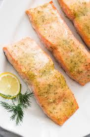 Honey Mustard Baked Salmon - Quick ...
