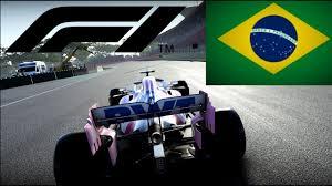F1 2020 | 25% Race @ Interlagos | Sergio Perez - Racing Point ...