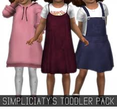 simpliciaty toddler s pack sims 4