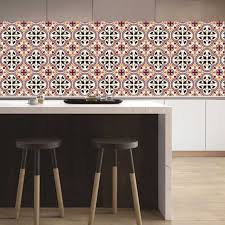 20pcs Self Adhesive Wall Decal Tile Vinyl Sticker Diy Kitchen Home Decor Walmart Com Walmart Com