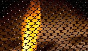 condar fireplace mesh screens