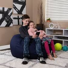Shop Oversized Refillable Bean Bag Chair For Kids And Adults Overstock 10089521
