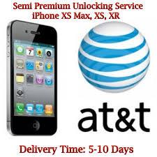 iphone xs max xs xr at t unlock service