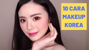 10 cara makeup korea untuk pemula