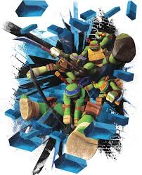 Tmnt Brick Poster Giant Wall Decal