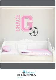 Personalized Wall Decals Sports Decals Soccer Stickers Name Etsy Personalized Wall Decals Sports Wall Decals Wall Stickers Kids
