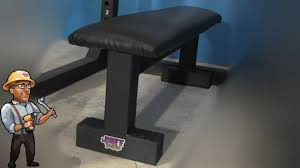 diy gym bench to level up your home gym