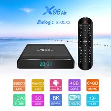 X96 Air Amlogic S905X3 Mini Android 9.0 TV BOX 4GB 64GB 32GB wifi 4K 8K  24Fps Netflix – Swadeal