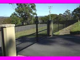 Metal Fence Design Ideas Youtube