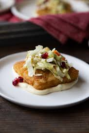Fish Starter with Winter Slaw ...