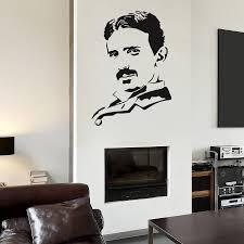 Wall Decal Sticker Serbian Physicist Nikola Tesla Room Bedroom Energy Wall Decals Stickers Decal Stickerwall Sticker Aliexpress