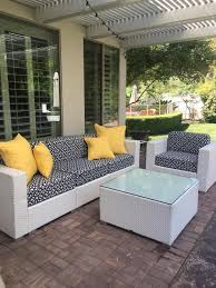 outdoor cushions in sunbrella