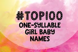 100 one syllable baby names