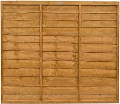 Forest Panel Dip Treated 5 Ft Pack Of 4 Amazon Co Uk Garden Outdoors