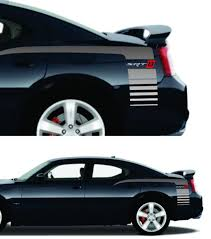 Product Fits Any Dodge Charger Srt Srt8 Quarter Panel Vinyl Decal Stripes
