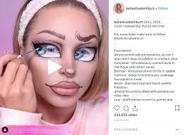 doll makeup looks we are loving mehron