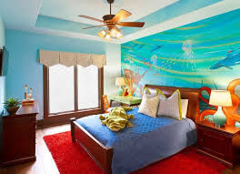 How To Turn Your Bedroom Into An Underwater Themed Space