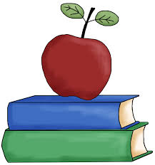 Apple Teacher Clipart
