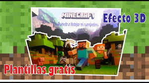 Diy Invitacion Minecraft Cumpleanos Youtube