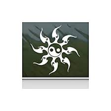 Buy Tribal Sun Yin Yang White Color Helmet Decoration Wall Art Laptop Bike Decor Adhesive Vinyl Notebook Die Cut Window Wall Art Macbook Car Vinyl Decal In Cheap Price On Alibaba Com