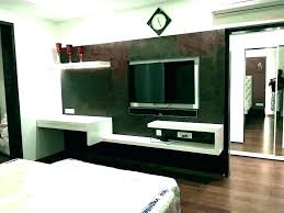 interior design for bedroom with tv