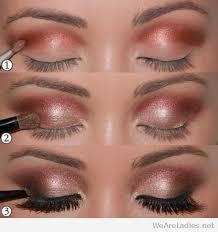 bronze and black eye makeup tutorial