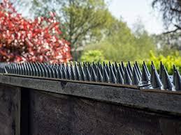 Fence Wall Spikes Prikkastrip Garden Security Intruder Bird Cat Repellent Burglar Anti Climb Colour Grey Pack Of 10 5m To 15m Amazon Co Uk Garden Outdoors