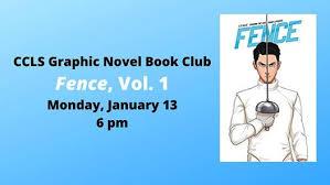 Graphic Novel Book Club Fence Vol 1 Mon Jan 13 2020 At 06 00 Pm