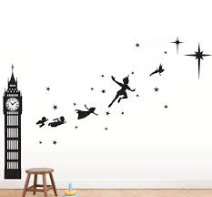 Peter Pan Second Star Wall Decal The Decal Guru